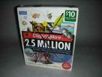 IMSI Clip Art 2.5 Million Collection  NEW IN BOX