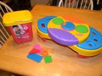 Playskool Clipo Creativity Table with 25 pieces &