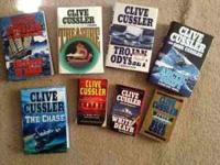 I have a small collection of Clive Cussler adventure