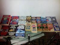 Here is 20 Clive Cussler books, 6 Hard back and 14