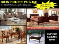 Modern Mission package includes a 5 pc bedroom set