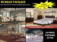 Louis Home Package includes the queen bed, dresser,
