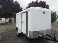 nterstate 6X10 Cargo Trailer  Sealed Floor Reinforced 1