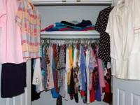 CLOSET FULL of size 18-20 (Mostly 18) Clothes. Shirts,