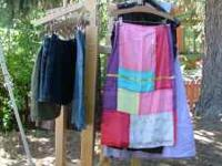 Several types of adjustable clothes racks (more styles