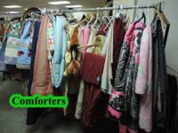 Clothing and Linen for Female, Men, Children, Infants,