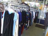 Clothing Outside Under the Pavilion is $0.99 each. Only