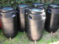 Rain Water Barrels, Rain Harvesting, Rain Barrels,