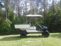 Bring all 2 all aluminum cart body and frame. Many new