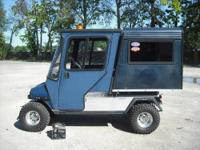 For Sale is this rare Club Car Carryall Electric Golf