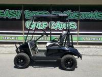 Check out this super sporty custom build! This cart