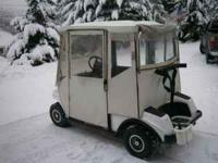 Excellent Club Car Golf Cart. I'm helping a friend sell