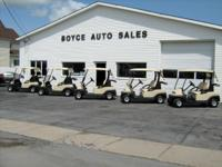 2006, 2008, 2009 & 2010, 2011 PRECEDENT CLUB CARS, GOLF