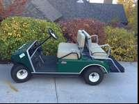 I am aiming to find a brand-new home for my golf cart.