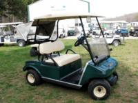Several to choose from. These carts have the club car