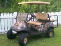 Club Car Precedent 2007 Model New lift kit and tires.