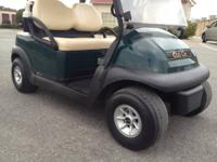 2008 CLUB CAR PRECEDENT,  48 volt system with New