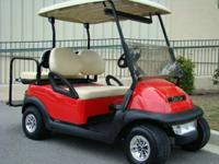 The Club Car Precedent has superior handling and drive