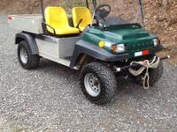 Club Car Carryall 272 heave duty utility vehicle.