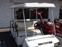 CLUB CAR VILLAGER BY INGERSOLL-RAND ELECTRIC 6 SEATER