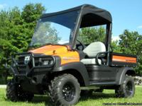 CLUB CAR XRT 1550 UTV WINDSHIELD + TOP + REAR WINDOW ON