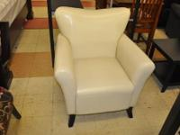 This classic chair is attractive and comfortable, the