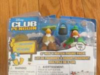 Club Penguin Fisherman & Camper Figure Pack Series 4