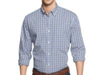 Gingham is a great wardrobe get. Check it out with this