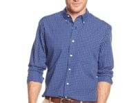 Fashionably dapper. This shirt by Club Room created