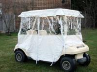 I am selling my Club Car Electric Golf Kart with newer