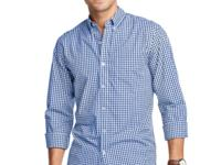 Classic in color and design, this checked shirt by Club