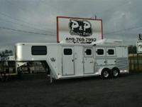 CHECK OUT THIS SUPER CLEAN USED TRAILER This CM 3 Horse