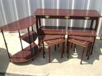 Beautiful matching tables for sale... Sofa Back Table -