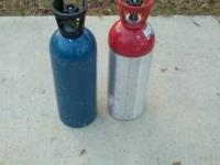 Several used CO2 Tanks for sale. $50.00 each. Call
