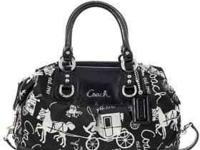 I have a brand new with tags Authentic Coach Ashley