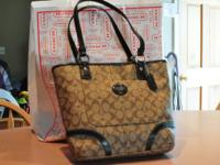 I have 3 Coach Bags for sale. Each on is $160. These