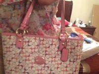 I have two terrific coach bags. The first one is a