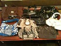 OK I HAVE 10 PURSES AND 5 MATCHING WALLET'S AND I GYM