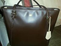 COACH Saffiano Peyton Tote F27349  100% AUTHENTIC