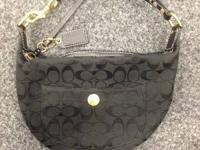 COACH Hampton Black Hobo Bag Purse A06Q-8631 priced at