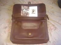 I have a emaculate coach laptop briefcase genuine