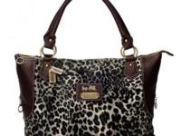 Coach Leopard Fur Large Coffee Totes BAJRegular Price: