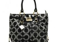 Coach Logo Monogram Large Grey Totes BNIRegular Price: