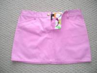 Absolutely adorable authentic Coach pink mini skirt.