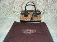 AUTHENTIC COACH PURSE $150.00 OR B.O. GOOD CONDITION