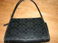 COach purse. Was a gift.....too dressy for my taste.