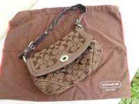 Authentic Coach Purse in great condition. Smoke Free