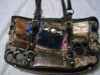 I have a patch work coach purse i bought about a year