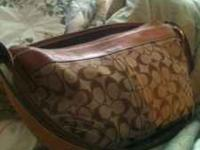 Authentic Coach purse. I don't know where the bag is