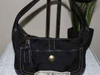 very nice clean coach purse serial number 10764 50.00